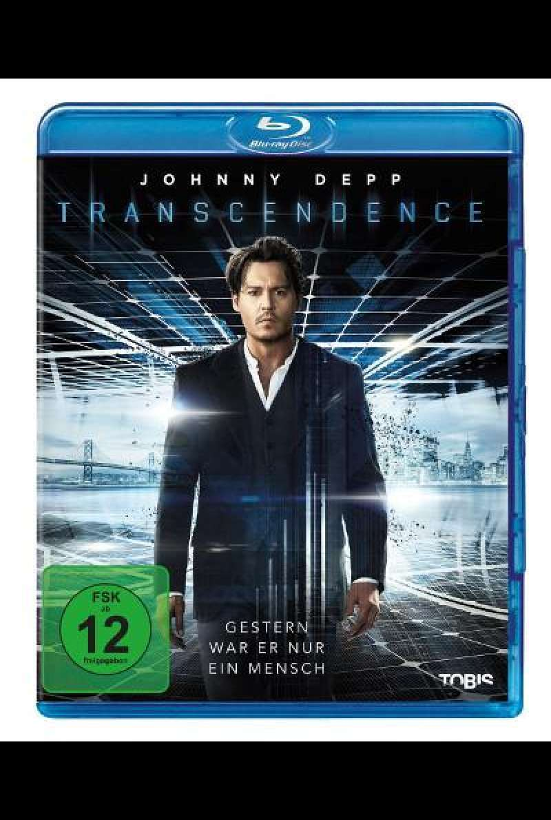 Transcendence von Wally Pfister -  Blu-ray Cover
