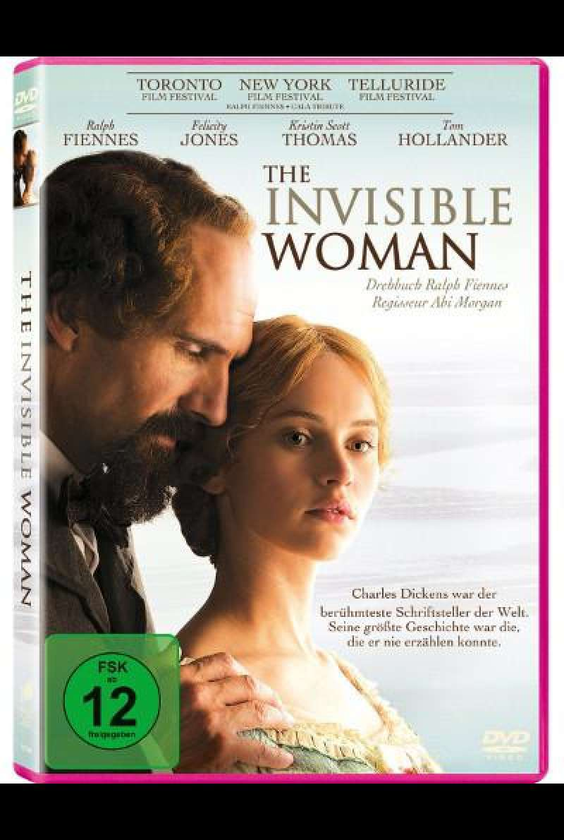 The Invisible Woman von Ralph Fiennes - DVD-Cover