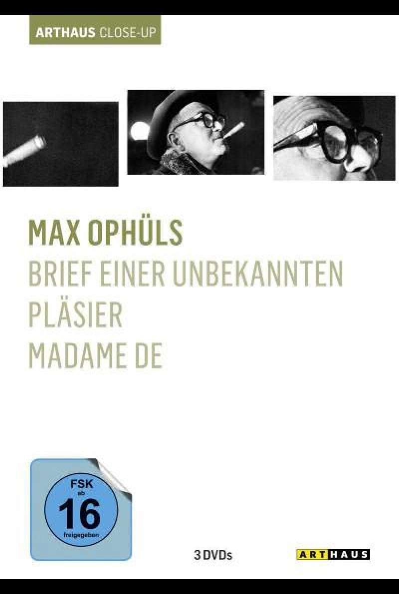 Max Ophüls - Arthaus Close-Up von Max Ophüls - DVD-Cover