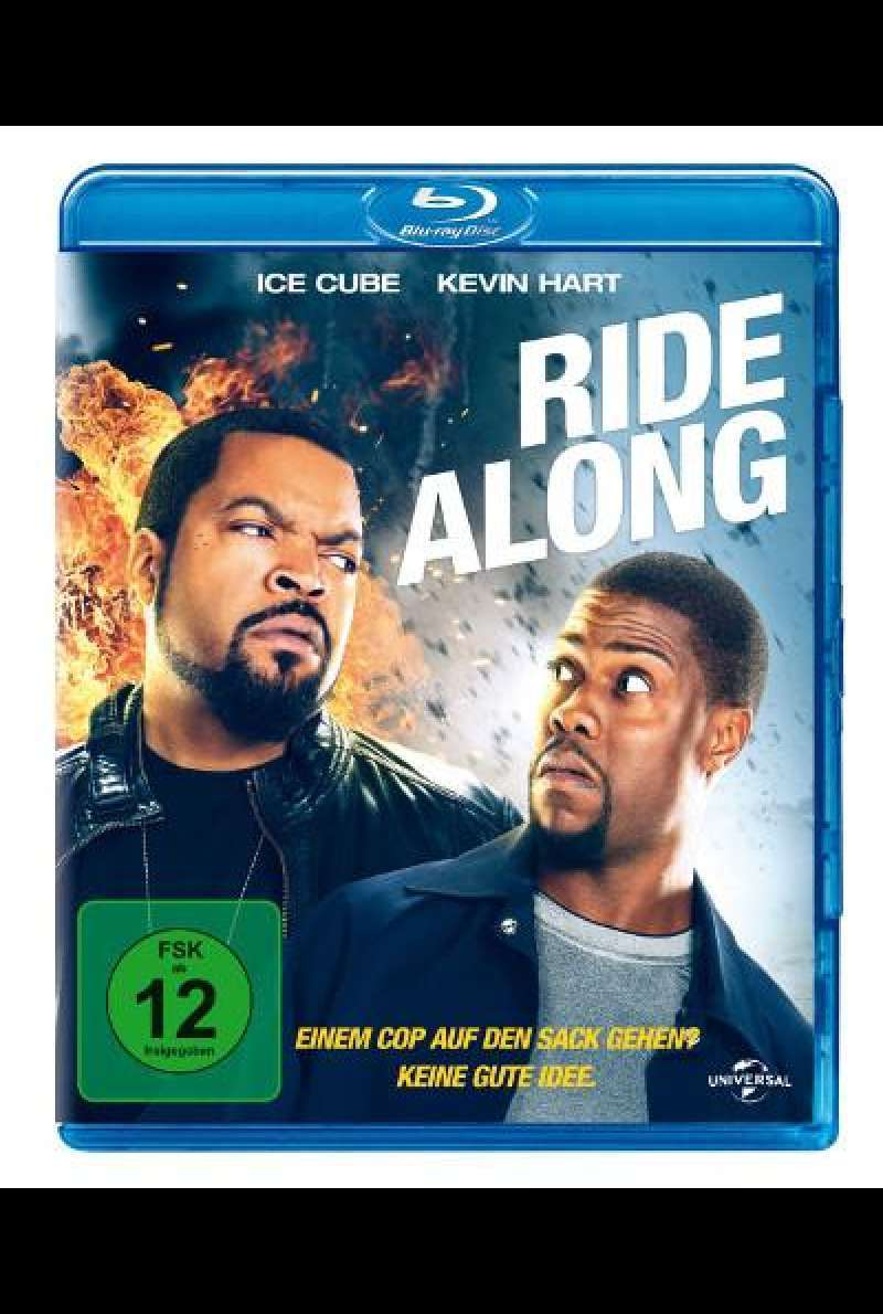 Ride Along von Tim Story - Blu-ray Cover
