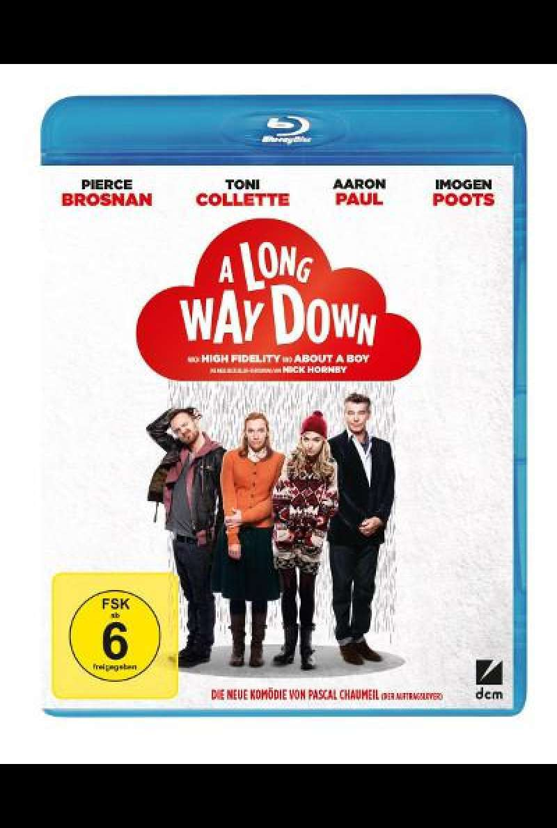 A Long Way Down von Pascal Chaumeil - Blu-ray Cover