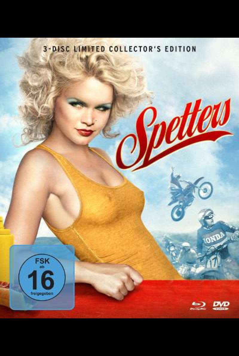 Spetters von Paul Verhoeven - Blu-ray Cover