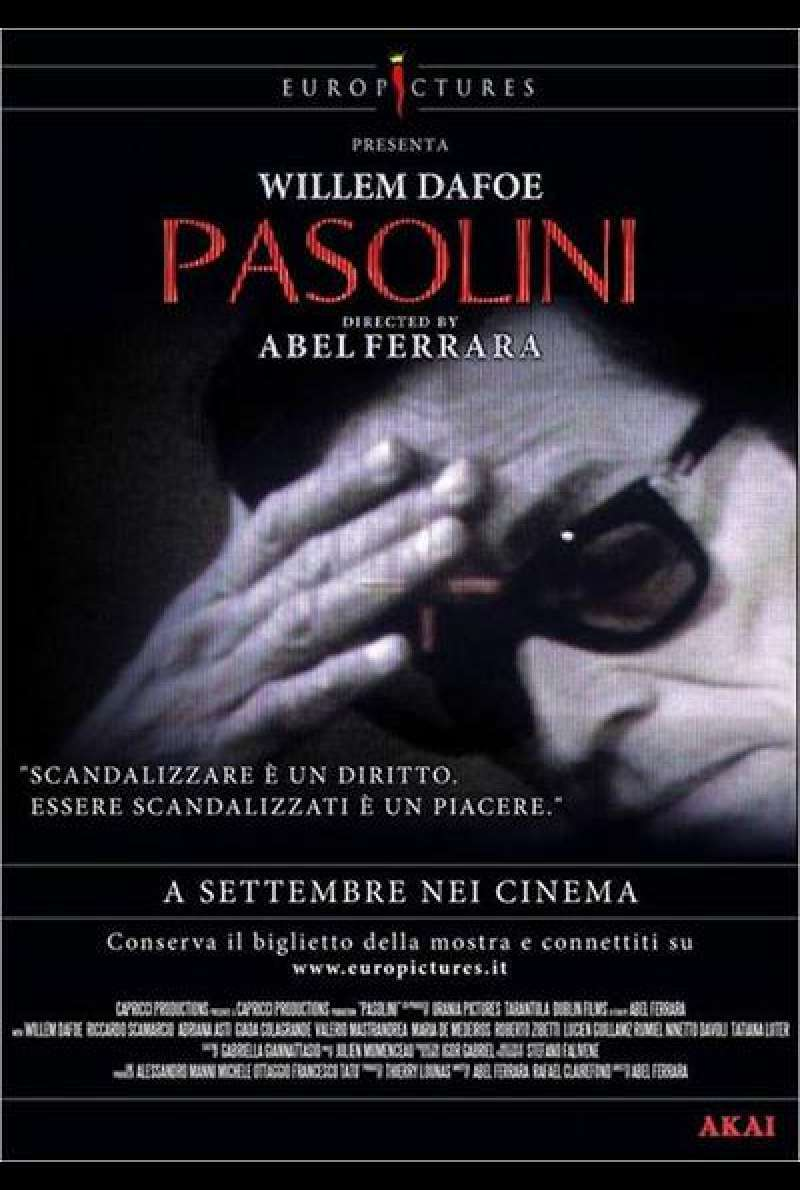 Pasolini - Filmplakat (IT)