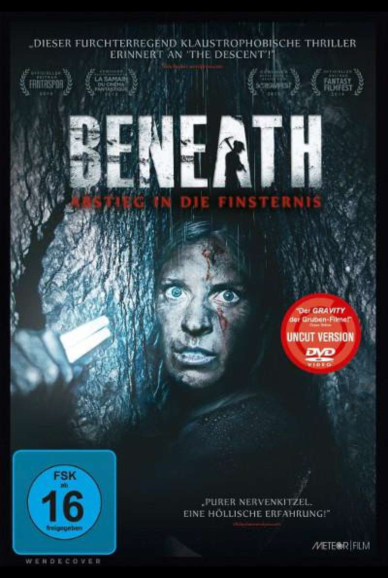 Beneath - Abstieg in die Finsternis von Ben Ketai - DVD-Cover