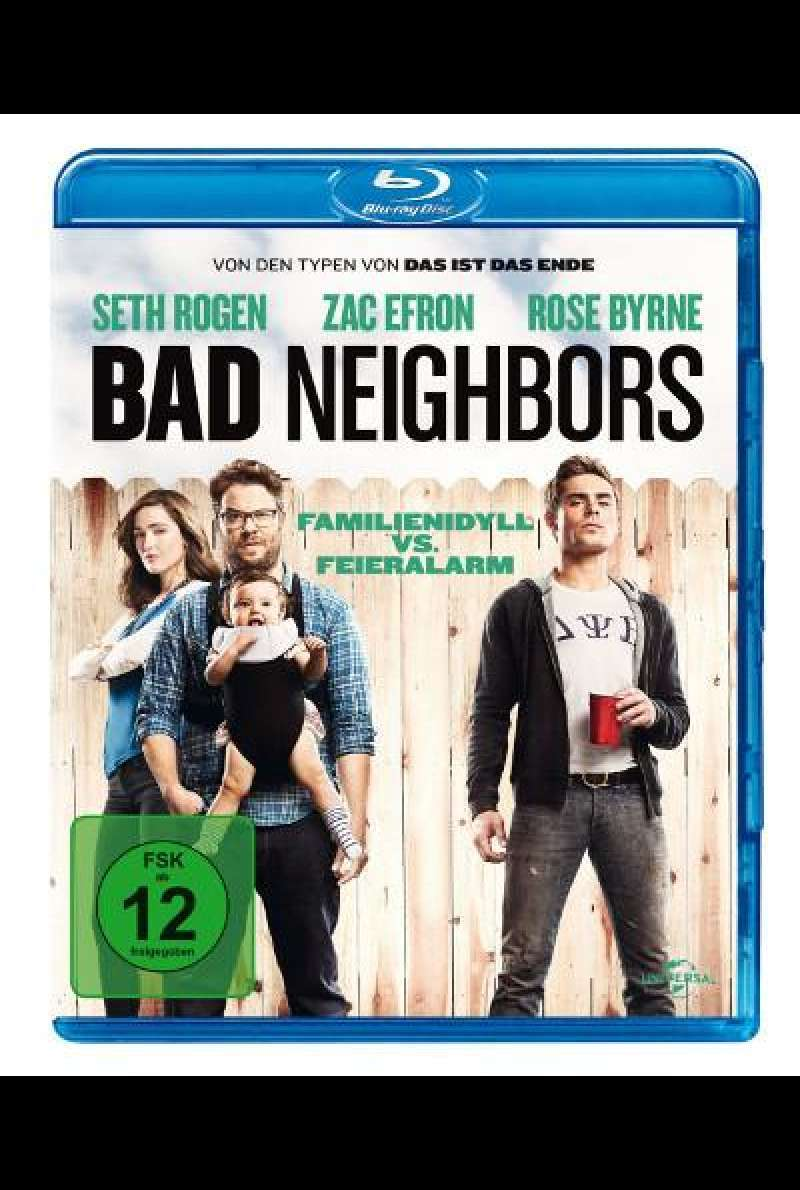 Bad Neighbors von Nicholas Stoller - Blu-ray Cover