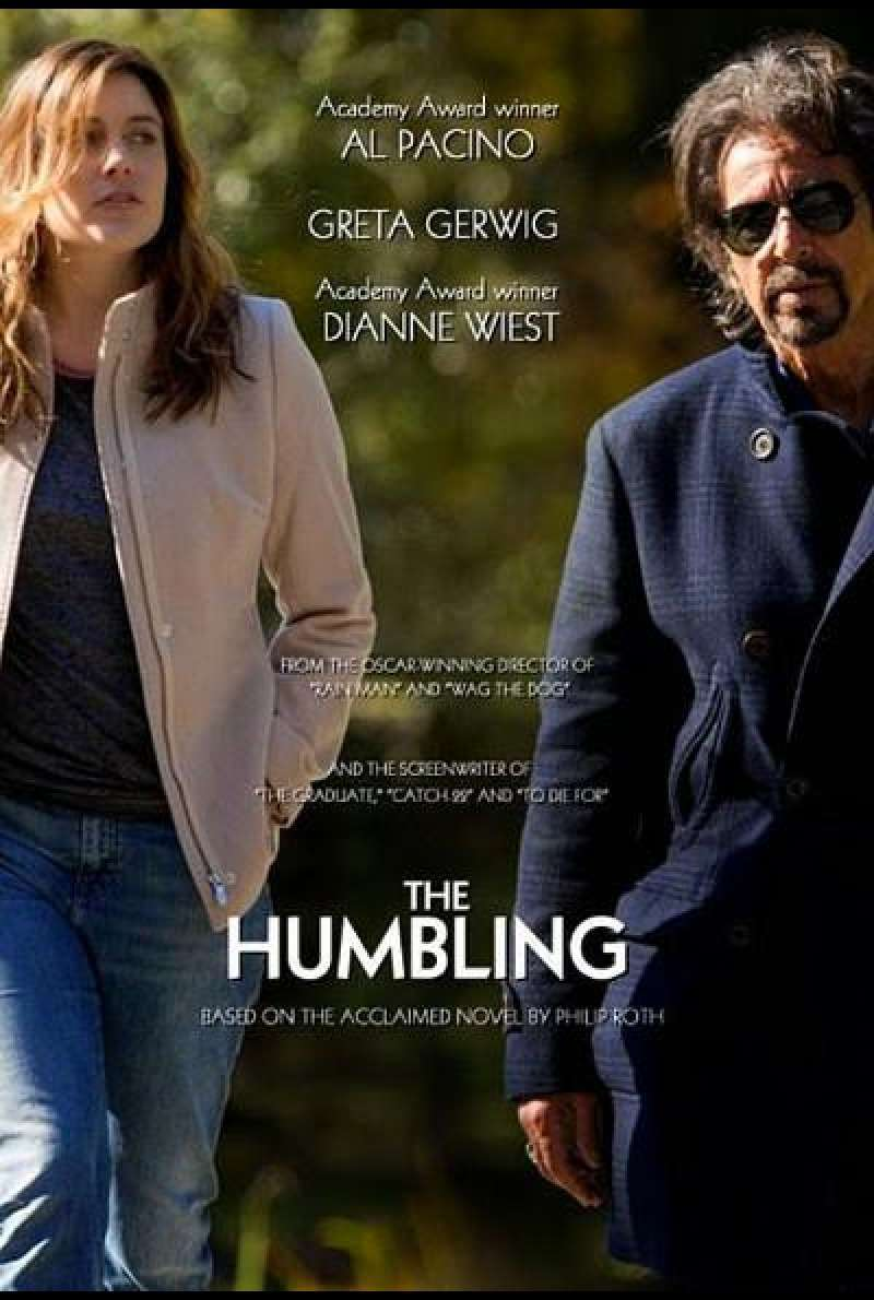 The Humbling von Barry Levinson	 - Filmplakat (US)