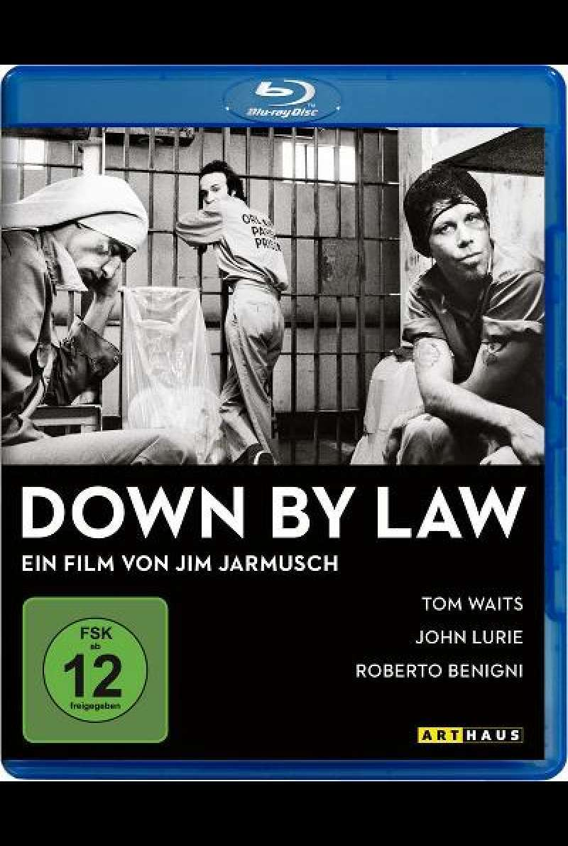 Down by Law - Blu-ray Cover