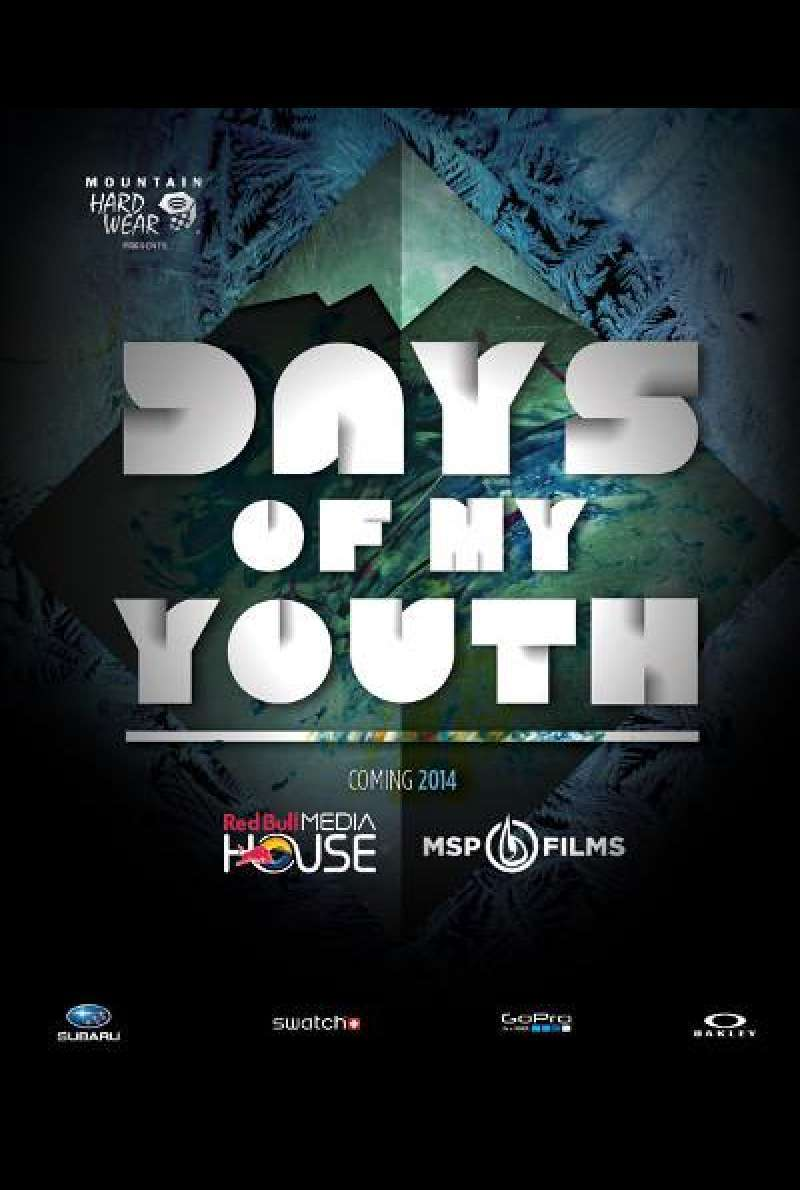 Days of My Youth von Steve Winter, Murray Wais und Scott Gaffney - Filmplakat (US)