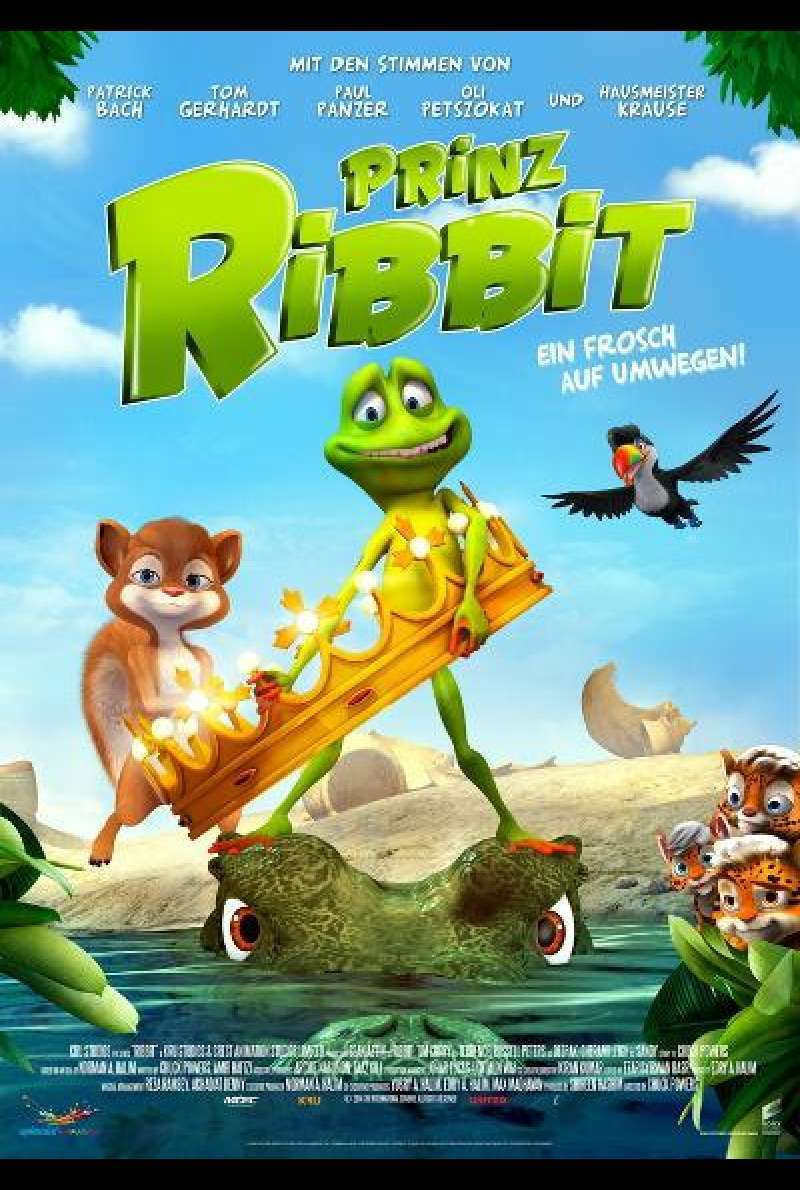 Prinz Ribbit von Chuck Powers - Filmplakat