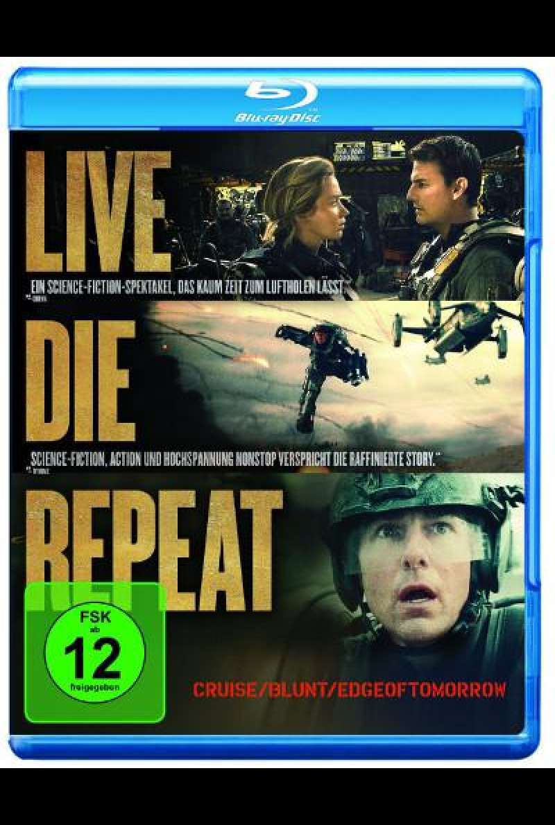 Edge of Tomorrow von Doug Liman - Blu-ray Cover