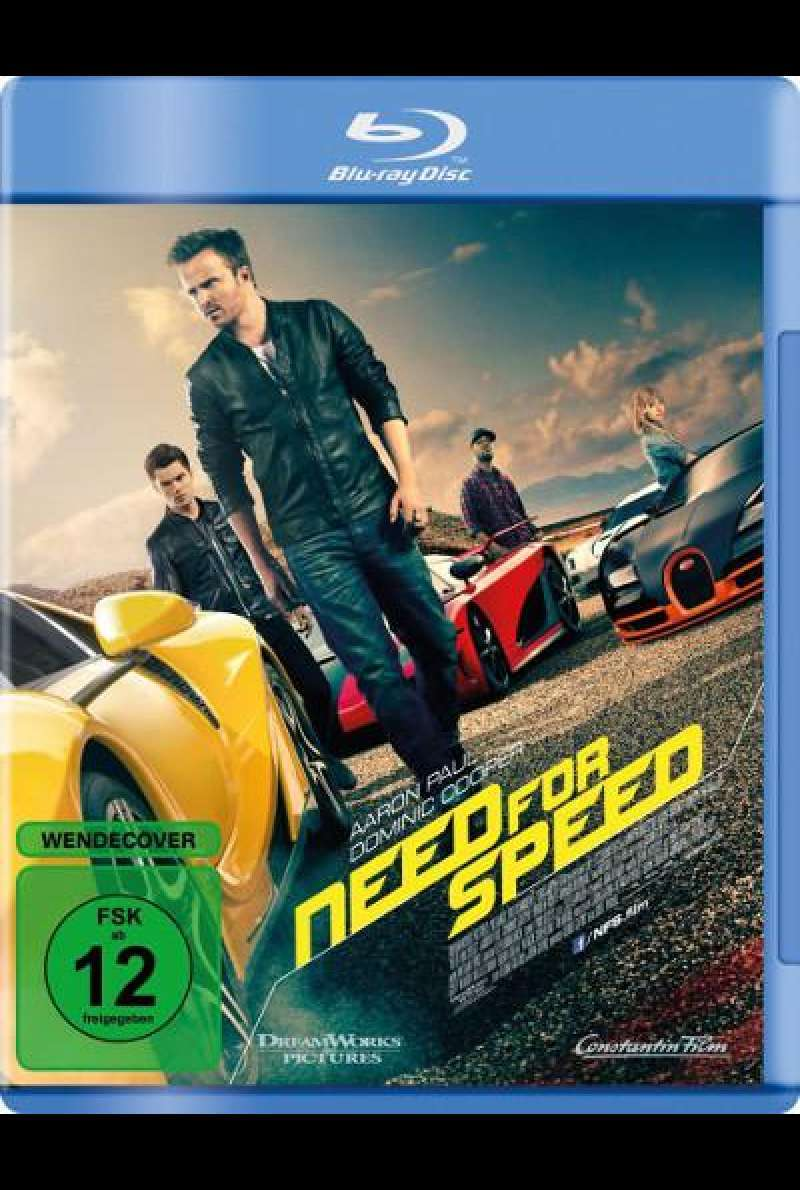 Need for Speed von Scott Waugh - Blu-ray Cover