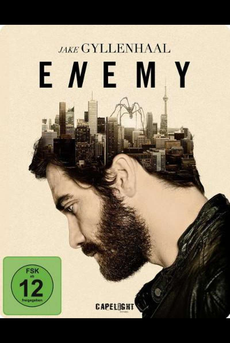 Enemy von Denis Villeneuve - Blu-ray Cover