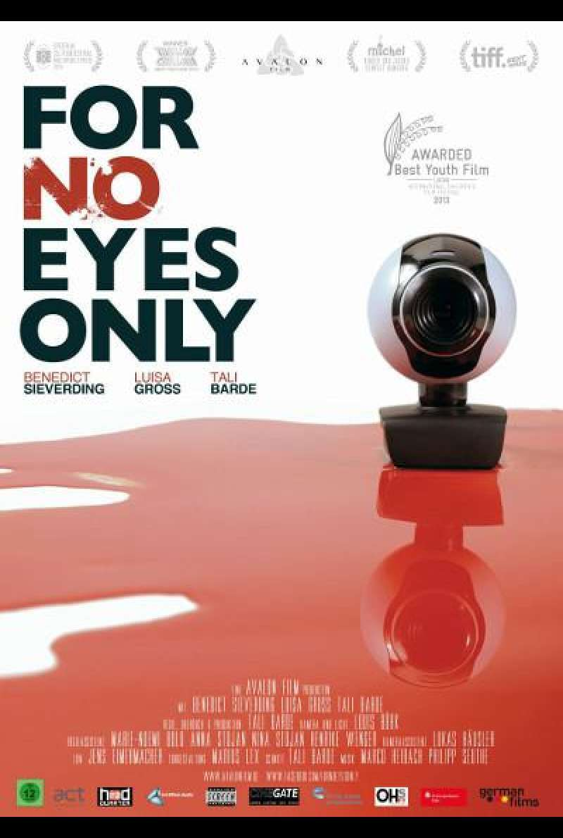 For No Eyes Only von Tali Barde - Filmplakat