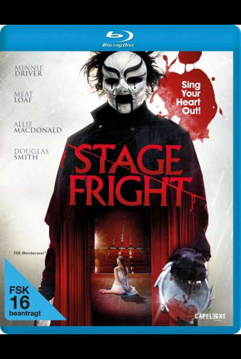 Stage Fright von Jerome Sable - Blu-ray Cover