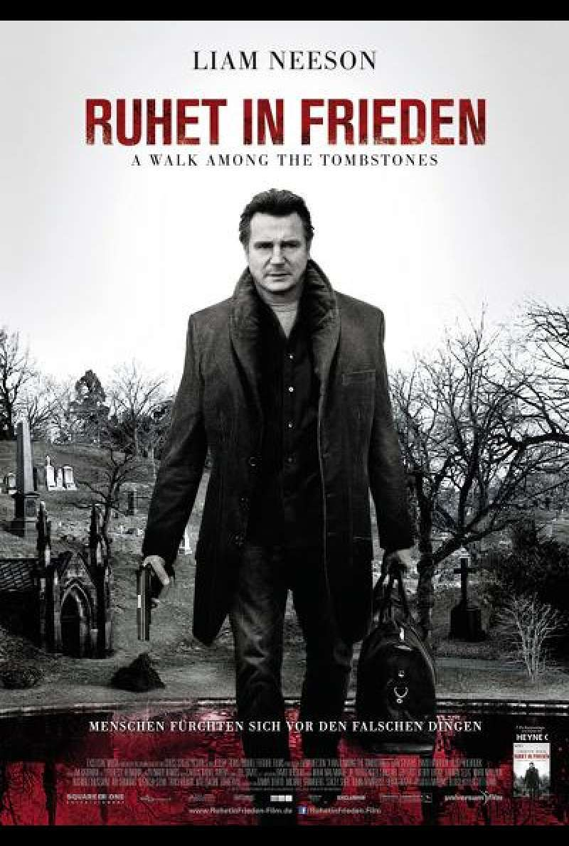 Ruhet in Frieden –  A Walk Among The Tombstones - Filmplakat