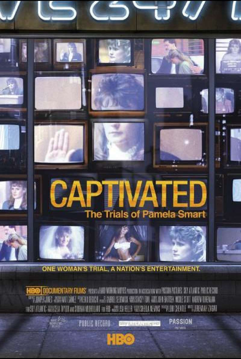 Captivated - The Trials of Pamela Smart von Jeremiah Zagar - Filmplakat (US)
