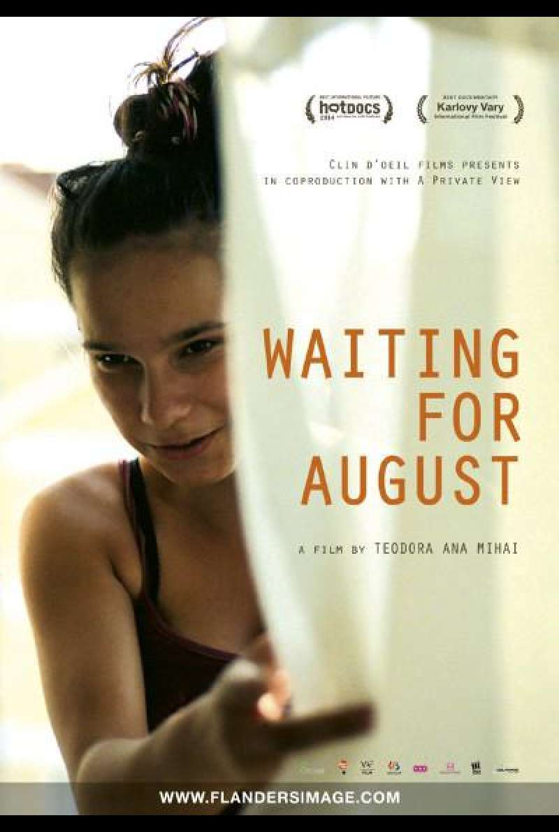 Waiting for August von Teodora Mihai - Filmplakat