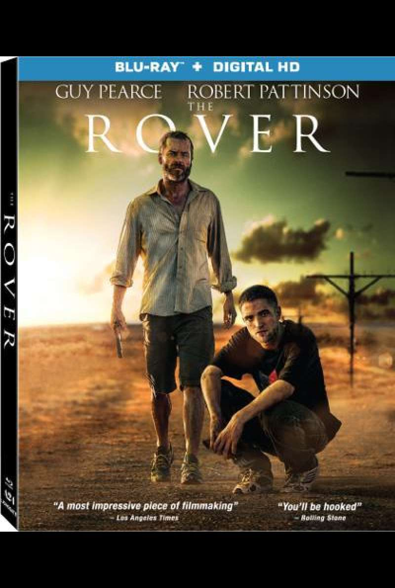 The Rover von David Michod - Blu-ray Cover