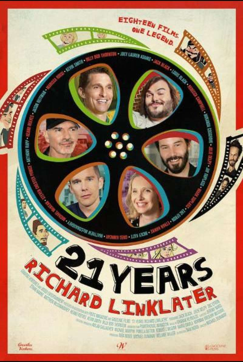 21 Years: Richard Linklater von Michael Dunaway und Tara Wood - Filmplakat (US)