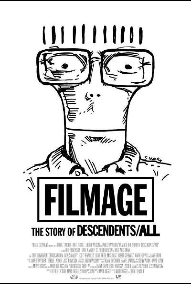 Filmage: The Story of Descendents/All von Deedle Lacour und Matt Riggle - Filmplakat (US)