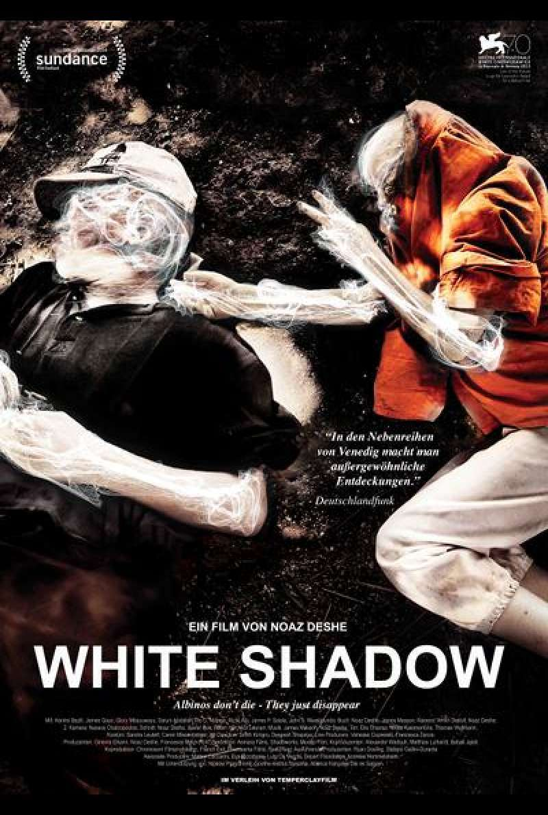 White Shadow - Filmplakat