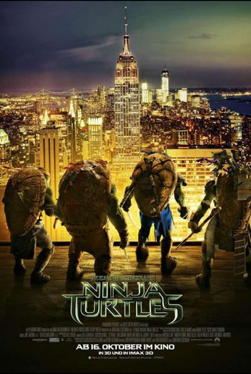 Teenage Mutant Ninja Turtles - Filmplakat