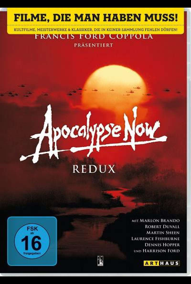 Apocalypse Now Redux - DVD-Cover