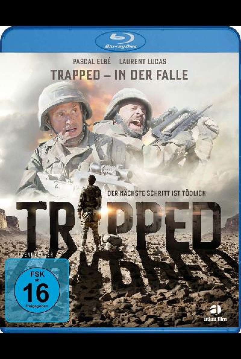 Trapped - In der Falle - Blu-ray Cover