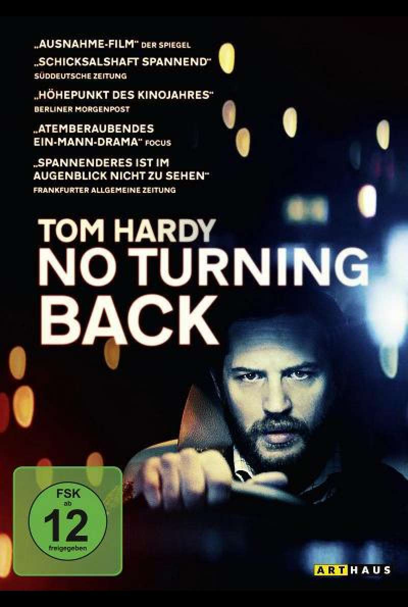 No Turning Back - DVD-Cover