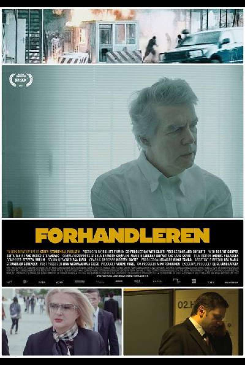 The Agreement von Karen Stokkendal Poulsen - Filmplakat (DK)
