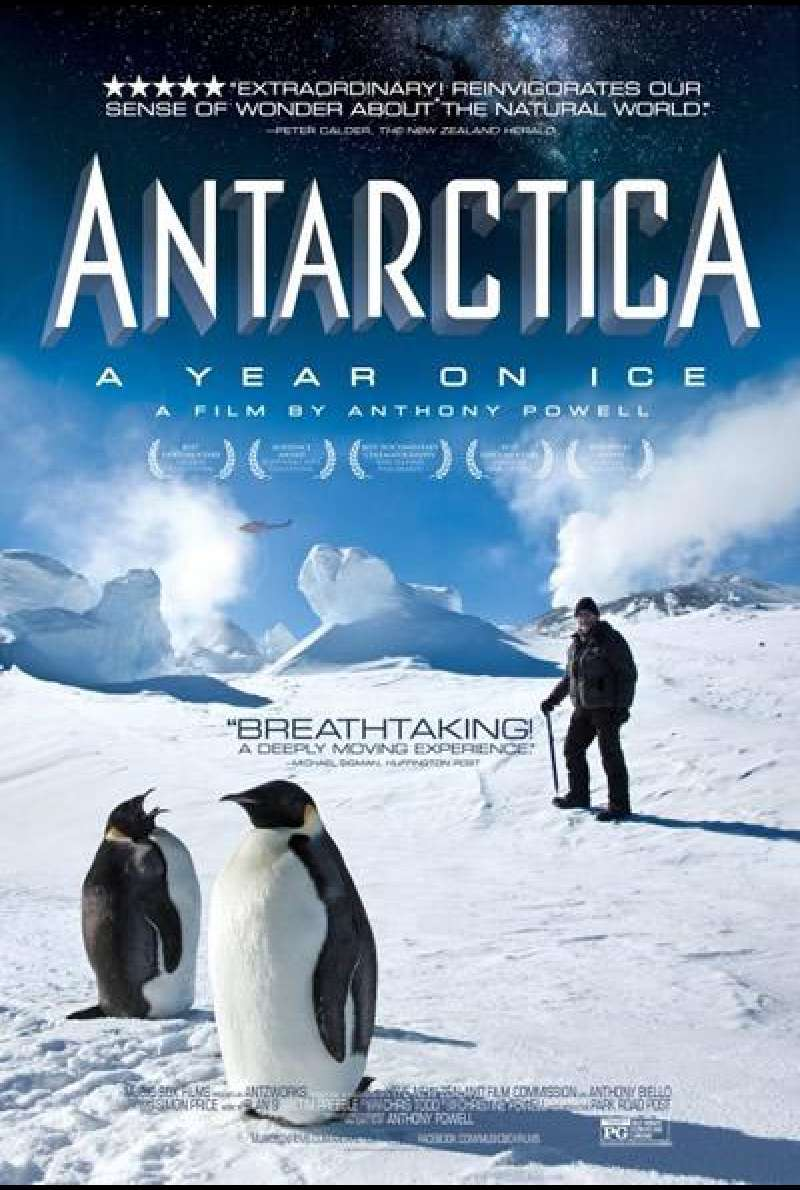 Antarctica: A Year on Ice - Filmplakat (NZ)