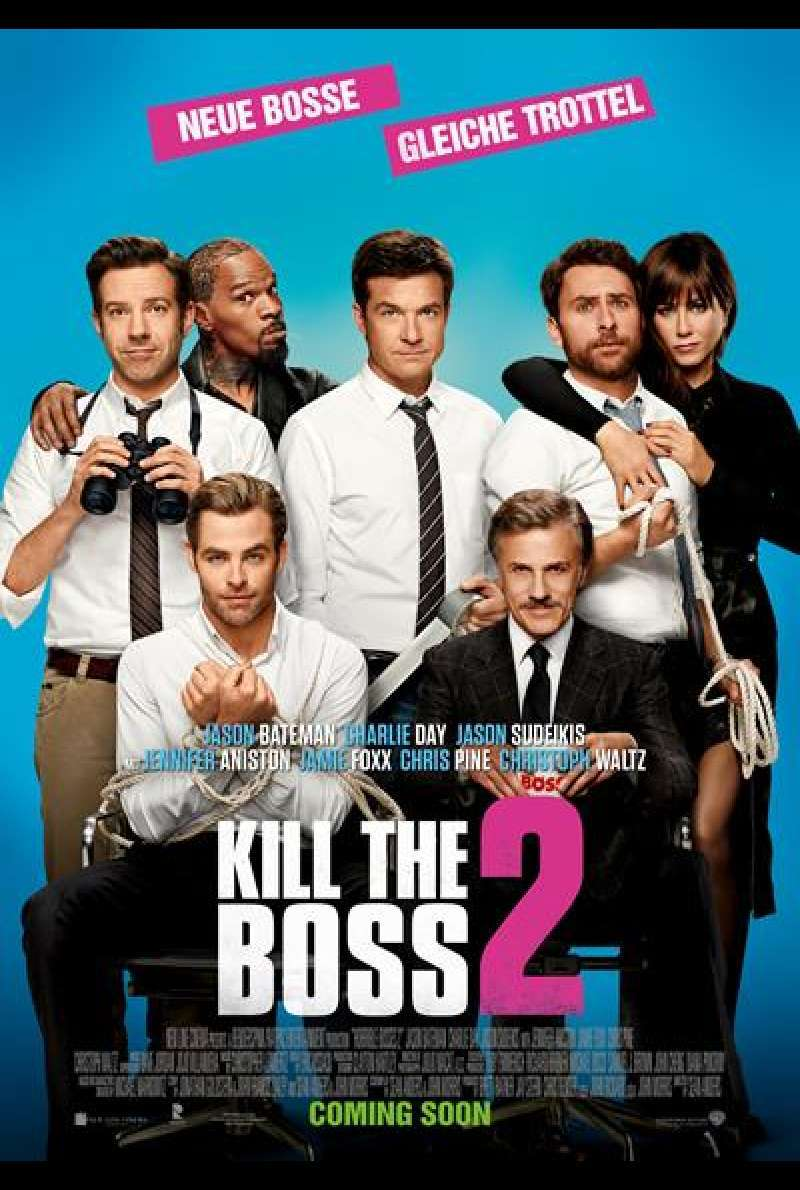 Kill the Boss 2 - Filmplakat