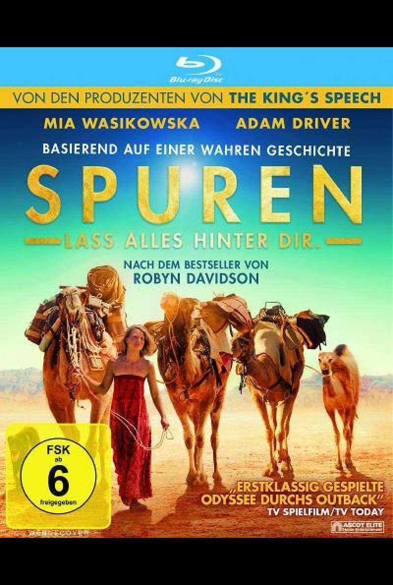 Spuren - Blu-ray Cover