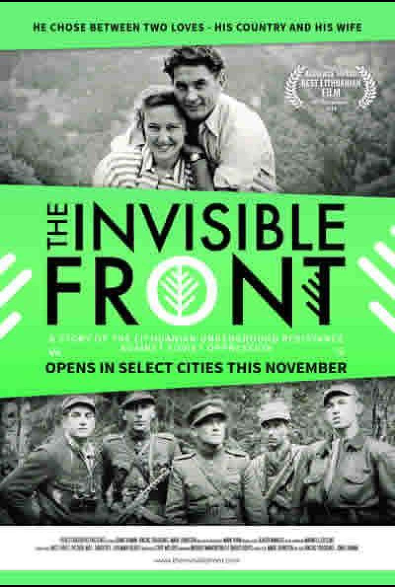 The Invisible Front - Filmplakat (US)