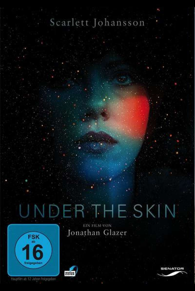Under the Skin - DVD-Cover