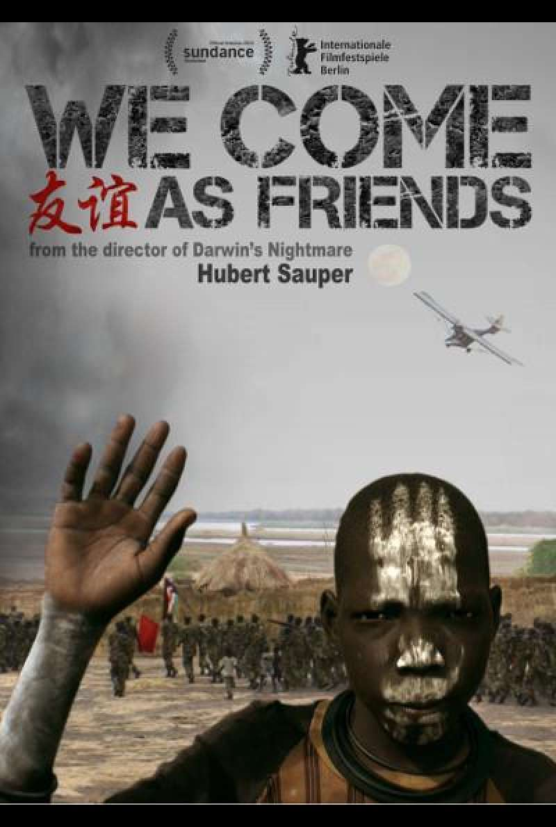 We Come as Friends von Hubert Sauper - Filmplakat (INT)