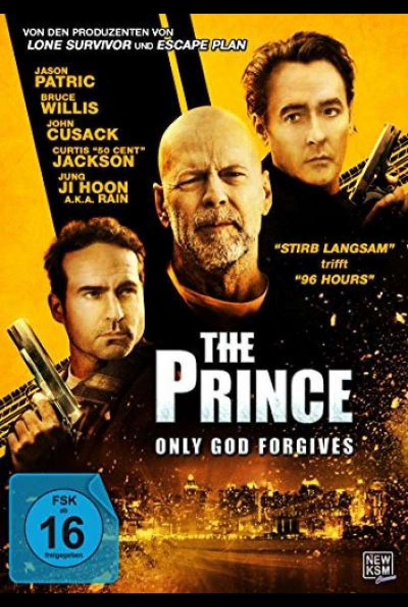 The Prince - Only God Forgives - DVD-Cover