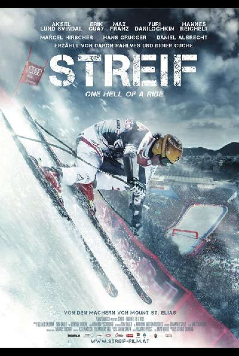 Streif - One Hell of a Ride - Filmplakat