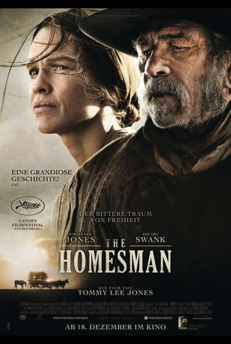 The Homesman - Filmplakat