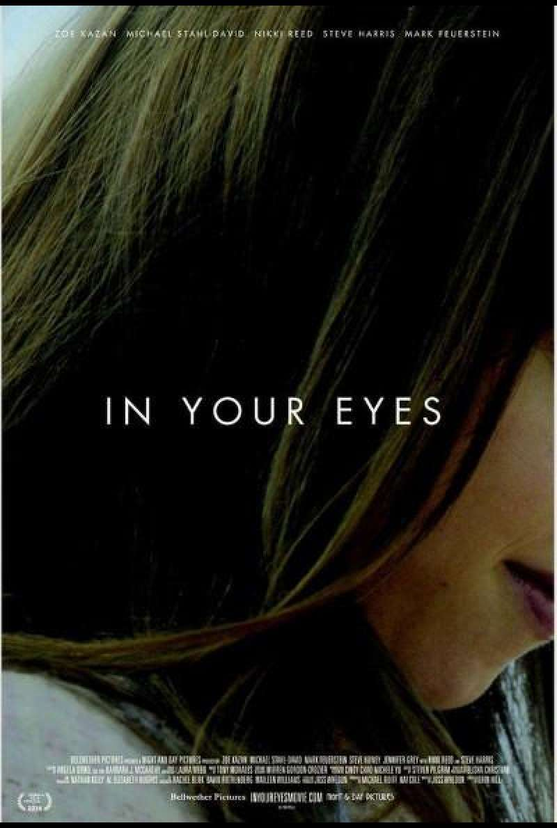 In Your Eyes von Brin Hill - Filmplakat (US)