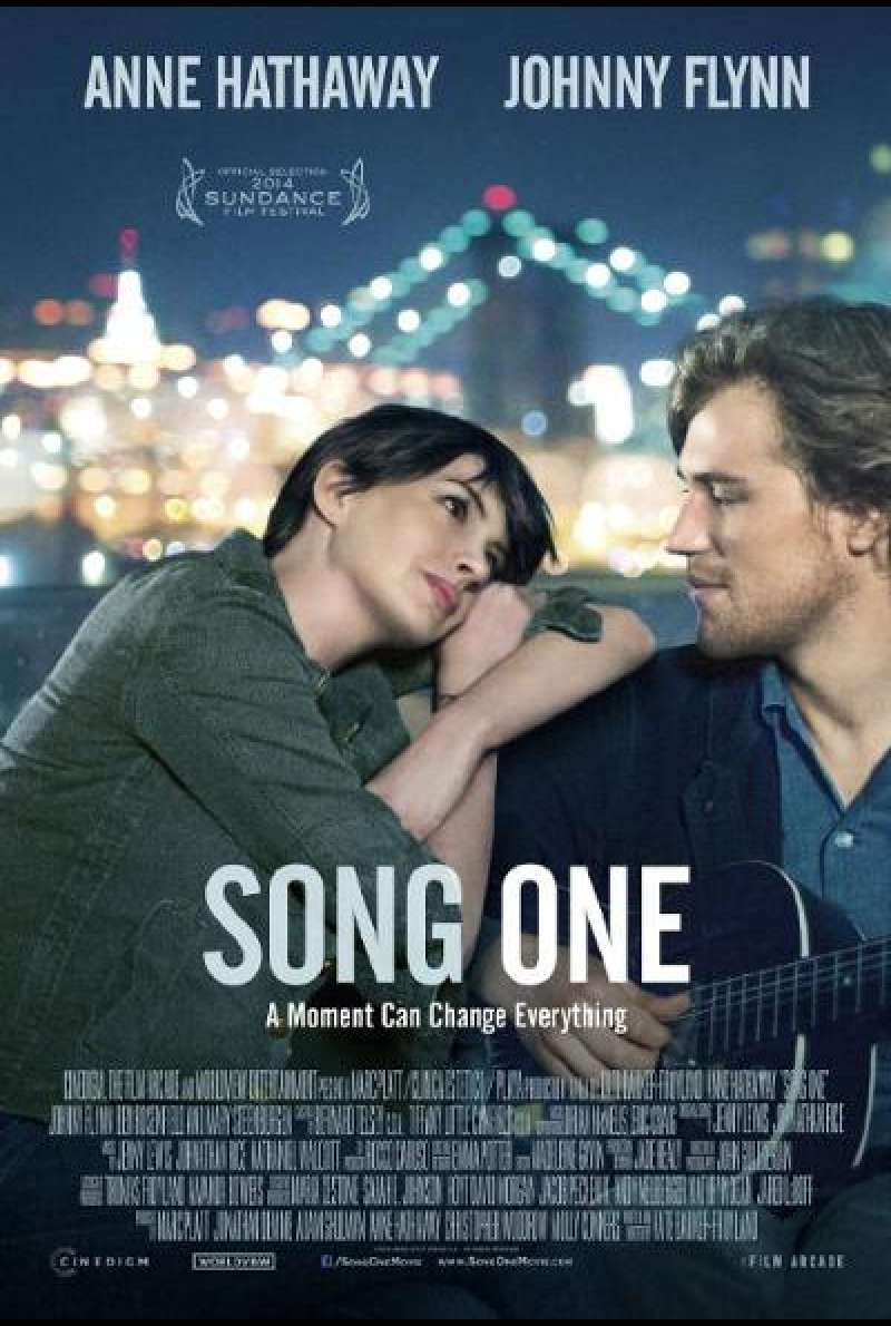Song One von Kate Barker-Froyland - Filmplakat (US)
