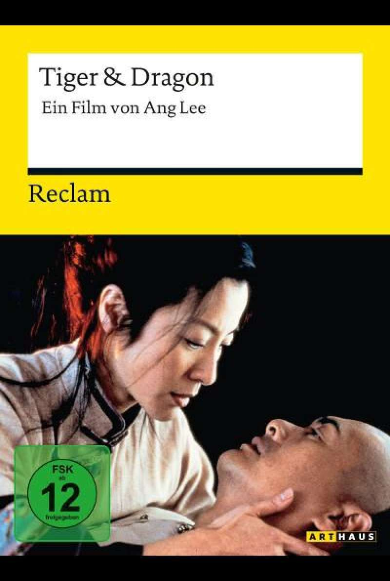 Tiger & Dragon von Ang Lee - DVD-Cover