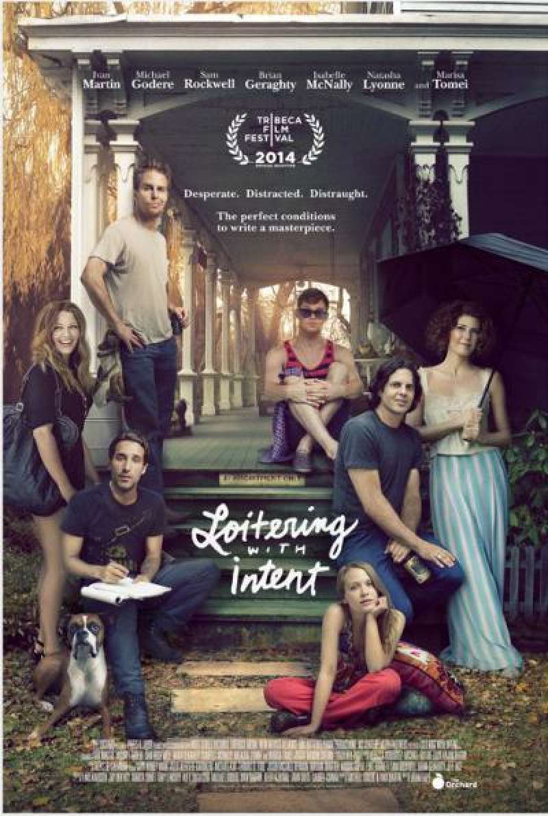 Loitering with Intent von Adam Rapp - Filmplakat (US)