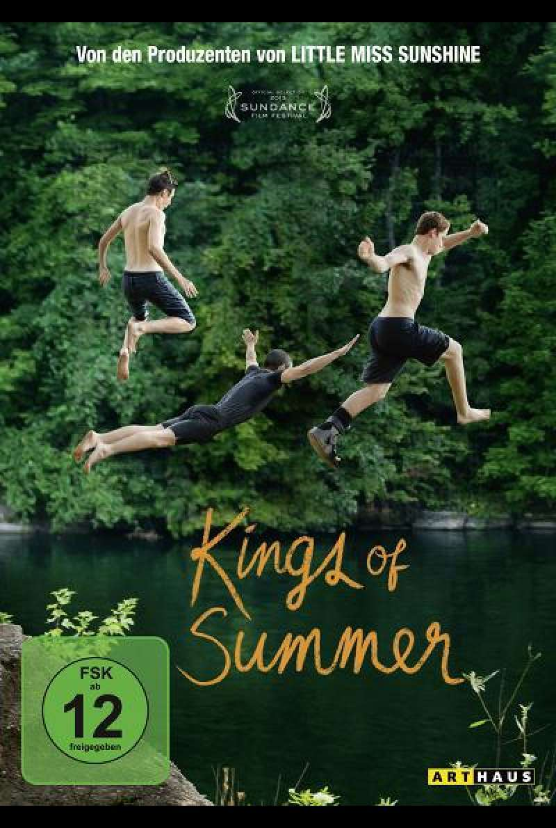 Kings of Summer - DVD-Cover