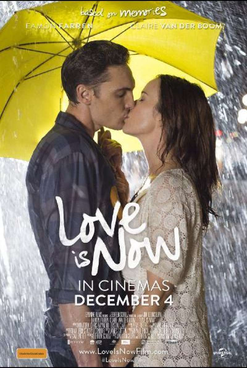Love is Now von Jim Lounsbury - Filmplakat (AU)