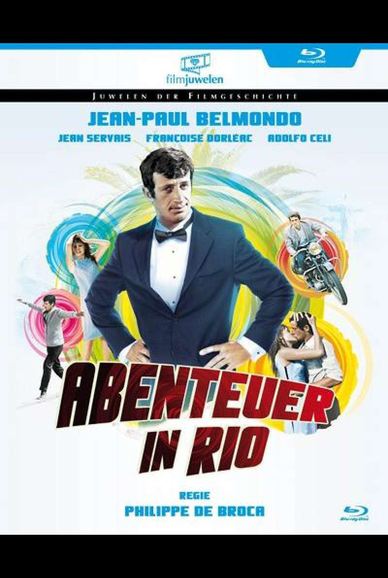 Abenteuer in Rio - Blu-ray Cover