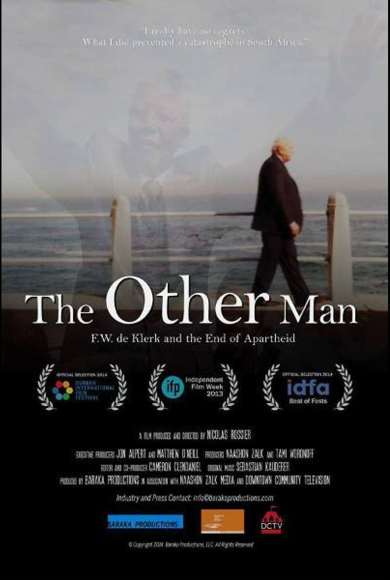 The Other Man - F.W. de Klerk and the End of Apart von Nicolas Rossier - Filmplakat (US)