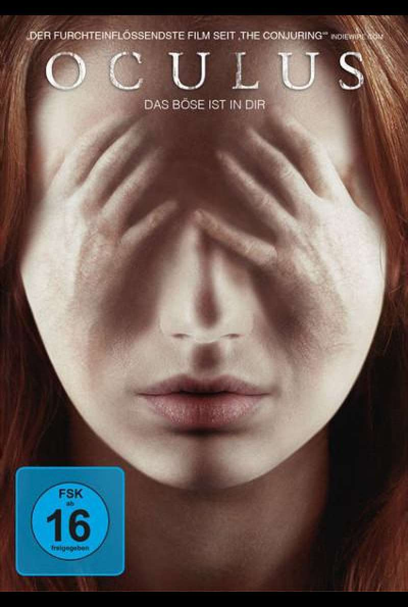 Oculus von Mike Flanagan - DVD-Cover