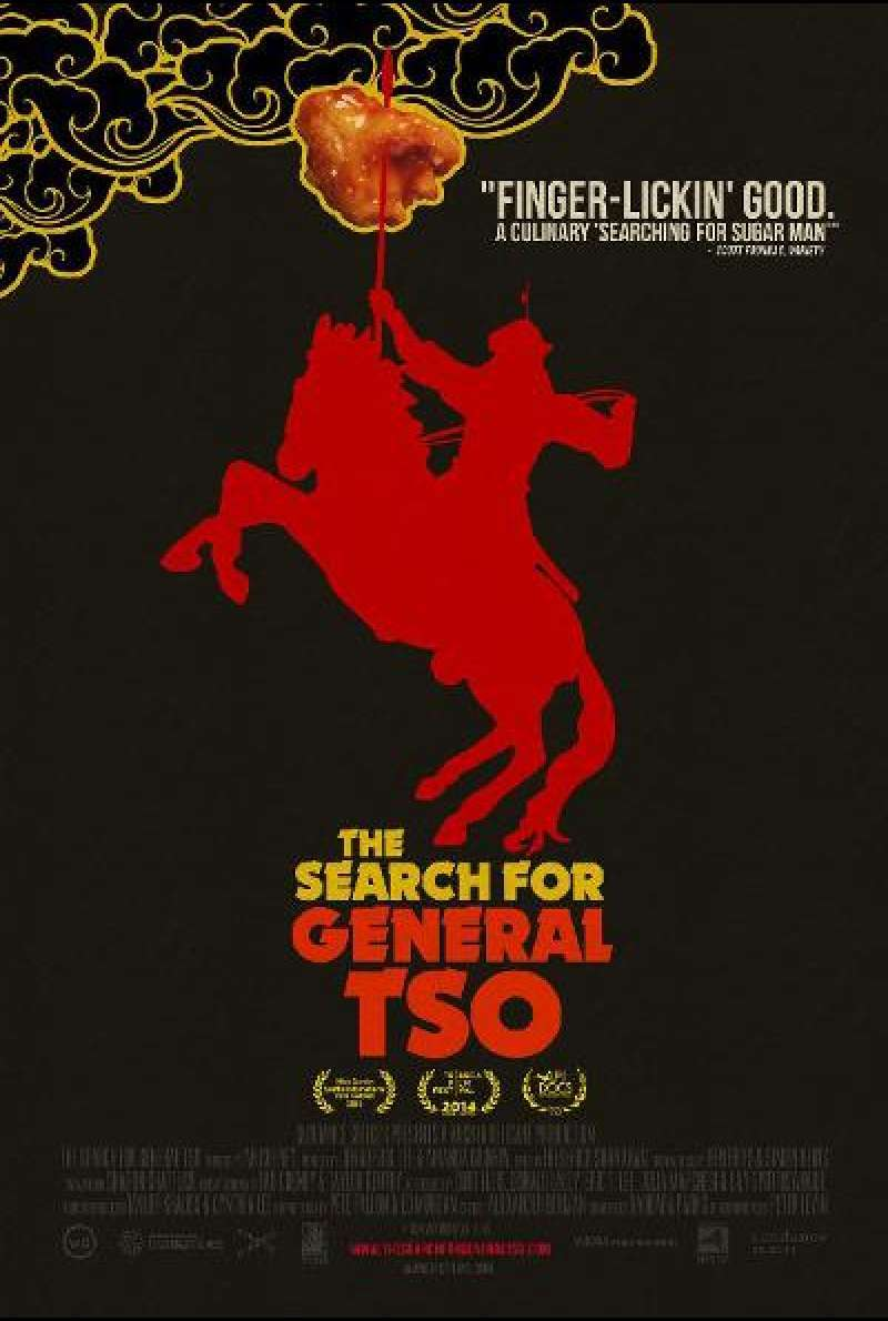 The Search for General Tso von Ian Cheney - Filmplakat (US)