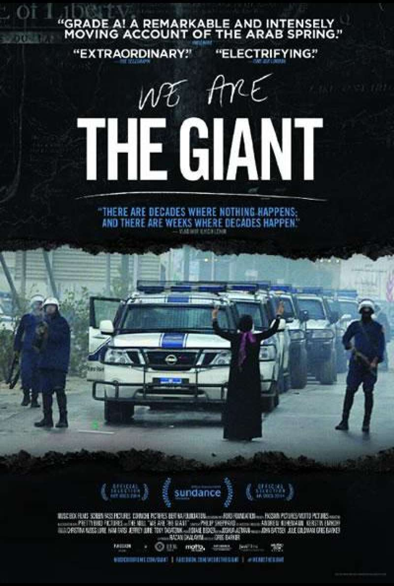 We Are The Giant - Filmplakat (INT)